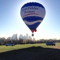 Scott Felder Homes Hot Air balloon